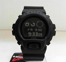 New Casio G-Shock Matte Black Watch DW-6900BB-1