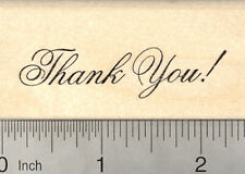 Thank You Rubber Stamp E23714 WM