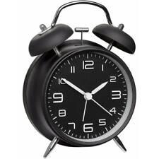 TFA mechanisch Wecker 60.1025 schwarz Alarmzeiten 1