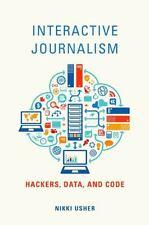INTERACTIVE JOURNALISM - USHER, NIKKI - NEW PAPERBACK BOOK