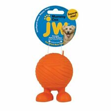 JW Pet Orange Mummy Rubber Dog Ball with Squeaker + FREE DELIVERY!