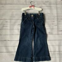 Girls 4 Years - Jeans - NEXT Bootcut Mid Blue Denim Adjustable Waist