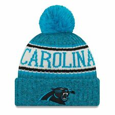 Era NFL Sideline 2018 Bobble Beanie - Carolina Panthers 988d9087b