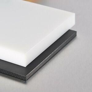 Polyethylene HDPE PE300 Sheet Cut To Size Panels Black or Natural