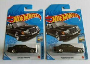 Hot Wheels Mercedes Benz 500 E Factory Fresh #145/250 2020 NEW Lot of 2