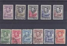 """BECHUANALAND 1938 PICTORIAL SET OF """"11"""" SG.118-128 FINE USED"""