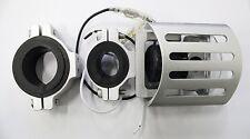 S4370211 Fanale BKR SQ FOGGY Interamente in Alluminio H3 OMOLOGATO       ARGENTO