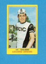 CAMPIONI dello SPORT 1970-71-Figurina n.114- ARMANI - CICLISMO -NEW