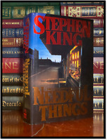 Needful Things ✎SIGNED✎ by STEPHEN KING Hardback 1st Edition First Printing