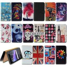 Leather Smart Stand Wallet Case Cover For HTC Desire Mobile Phones