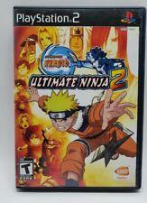 Naruto: Ultimate Ninja 2 (Sony PlayStation 2, 2007) Ps2 COMPLETE