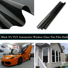 VLT 5% Roll Auto House Commercial UV+Insulation Car Tint Film for Side Window