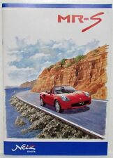 1999 Toyota MR-S Sales Brochure - Japanese Text