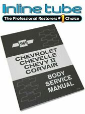 1965 Chevrolet Chevy Fisher Body Service Shop Manual Booklet Chevelle Chevy II