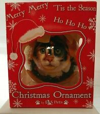 NEW Calico Cat Ornament Christmas Ball from E&S Pets