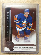 16-17 UD Artifacts Rookie Redemption Redeemed #RED199 ATHONY BEAUVILLIER /799 RC