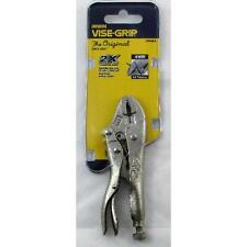 VISE-GRIP Locking Pliers, Curved Jaw with Wire Cutter, 4-i - IRWIN Tools - 1002L
