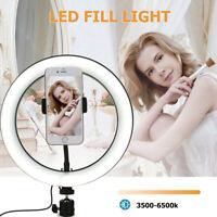 6/10'' Dimming LED Ring Light for Youtube Makeup Video Studio Live Phone Selfie
