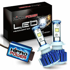 60W CREE MK-R LED Headlight Bulbs Mitsubishi Lancer 2008 2009 2010 2011-2015