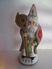 "Wax 1909 Santa Candle 6 1/4"""