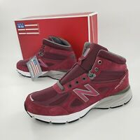 New Balance 990 V4 Made in USA Men Size US 11 Trail Running Shoe MO990BU4 NEW