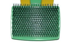 Pet's rounded-tip pin brush dog grooming comb