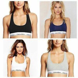 New Women's Calvin Klein CK Sport Bralette Bra / Thong / Briefs Underwear  S-XL