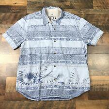 Tommy Bahama Mens Size XL Button Down Beach Shirt Short Sleeve Hawaiian Aloha