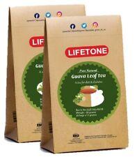 Guava leaf tea - Rapid weight loss,detox Herbal tea,Whole Herb,40 Teabags