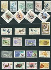 Romania-  Birds, Fish & Animals on Stamps........A 8714