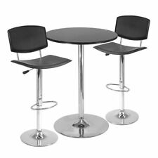 metal round pub table dining furniture sets