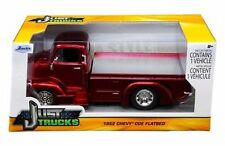JADA 1:24 W/B JUST TRUCKS -1952 CHEVROLET COE PICKUP DIECAST CAR CANDY RED 97463