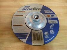 "Norton Bluefire Grinder Wheel Type 27 Depressed Center Wheel, 7"" 1/4 T,5/8""-11"