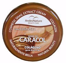 Andes-Nature baba de caracol snail cream crema de caracol gel Karakol kream