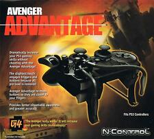 PS3 Avenger Advantage Controller-Cheat-Adapter 2017 (no controller included)