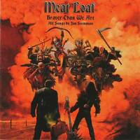 MEAT LOAF - BRAVER THAN WE ARE (+3 Bonus) NEW ALBUM 2016 - CD Jewel Case+GIFT