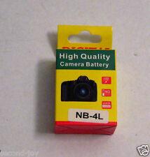 NWB Canon High Quality Camera Battery NB-4L POWERSHOT SD200 SD400 SD750