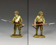 KING & COUNTRY WW2 JAPANESE NAVY JN035 JAPANESE STANDING RIFLE & BAYONET MIB