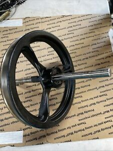 Nordic Track Ski Machine Replacement Part Flywheel Removed From Working Unit