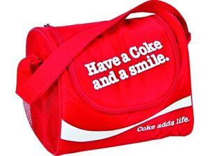 "EZetil Kühltasche Coca Cola ""Coke & Smile"" 10 Liter rot und  2  220g Kühlakkus"