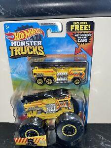 Hot Wheels Monster Truck 5 Alarm & 5 Alarm