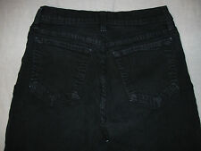 NYDJ Not Your Daughter's Jeans Boot Cut 4 P X 28 Stretch Black Women's Jeans