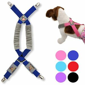 Dog Suspenders for Pet Clothes Apparel Diapers Pants Skirt Belly Bands XXS - XXL