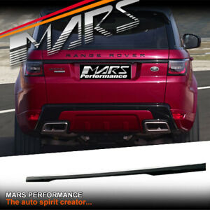 Gloss Black Tail Gate Garnish Trim Mould for LAND ROVER Range Sport L494 2013-20