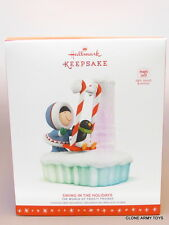 NEW 2016 Frosty Friends Swing In The Holidays HALLMARK KEEPSAKE ORNAMENT