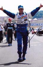 Pedro Lamy signé Minardi-FORD Portrait 1996 saison en Grand Prix