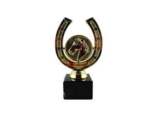 Hufeisen-Glücksbringer-Reiter-Pokal mit Ihrer Wunschgravur