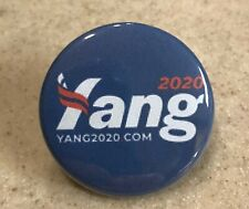 Andrew Yang Campaign Button 1 1/2 in. Ships Free