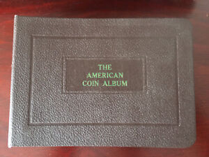Indian Head -Buffalo Nickel The America Coin Album  Vintage Pre -1950