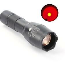2200lm CREE XML T6 Red LED Zoomable Rechargeable Torch Flashlight Fashion New